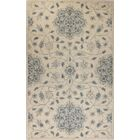 Arsenal Hand-Knotted Light Blue Area Rug Rug Size: 7'9