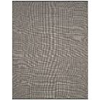 Ollie Hand-Woven Cotton Black Area Rug Rug Size: Rectangle 9' x 12'