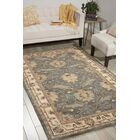 Constance Hand-Tufted Wool Blue Area Rug Rug Size: Rectangle 5' x 8'