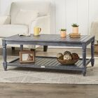 Keyser Coffee Table Color: Ash Grey