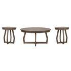 Hibbert 3 Piece Coffee Table Set