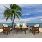 Days End 6 Piece Sunbrella Sofa Set with Cushions Color: Natural, Fabric: Spectrum Cilantro