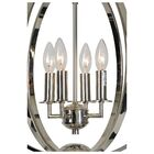 Leesanne 4-Light Globe Chandelier