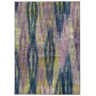 Prismatic Abstract Purple/Blue Area Rug Rug Size: Rectangle 9'8