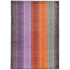 Prismatic Geometric Purple/Orange Area Rug Rug Size: Rectangle 3'5
