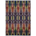 Prismatic Abstract Purple/Orange Area Rug Rug Size: Rectangle 7'10