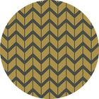 Fallon Split Pea Hand-Woven Gold Area Rug Rug Size: Rectangle 3'6