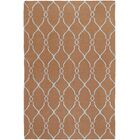 Fallon Chocolate/Pale Beige Area Rug Rug Size: Rectangle 5' x 8'