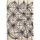 Orinocco Hand-Woven Black/Beige Area Rug Rug Size: Rectangle 2' x 3'