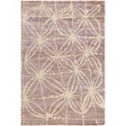 Orinocco Hand-Woven Purple/Beige Area Rug Rug Size: Rectangle 8' x 10'