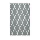 Geometric Grey Indoor/Outdoor Area Rug Rug Size: Rectangle 3' x 5'