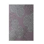 Floral Purple Indoor/Outdoor Area Rug Rug Size: Rectangle 3' x 5'