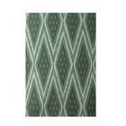 Geometric Hand-Woven Green Indoor/Outdoor Area Rug Rug Size: Rectangle 3' x 5'