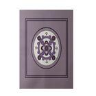 Geometric Hand-Woven Purple Indoor/Outdoor Area Rug Rug Size: Rectangle 5' x 7'