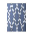 Gate Keeper Geometric Print Blue Indoor/Outdoor Area Rug Rug Size: Rectangle 3' x 5'