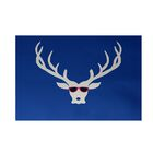 Decorative Holiday Print Royal Blue Indoor/Outdoor Area Rug Rug Size: Rectangle 3' x 5'