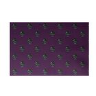 Crazy Christmas Decorative Holiday Print Purple Indoor/Outdoor Area Rug Rug Size: Rectangle 3' x 5'