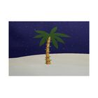 Coastal Christmass Blue/White Indoor/Outdoor Area Rug Rug Size: Rectangle 3' x 5'