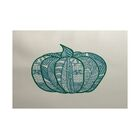 Ames Teal Indoor/Outdoor Area Rug Rug Size: Rectangle 3' x 5'
