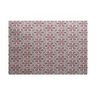Viet Red/Green Indoor/Outdoor Area Rug Rug Size: Rectangle 3' x 5'
