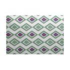 Abbie Geometric Green/Purple Indoor/Outdoor Area Rug Rug Size: Rectangle 3' x 5'
