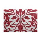 Rhymer Red Indoor/Outdoor Area Rug Rug Size: Rectangle 3' x 5'