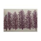 Babbitt Bluff Purple Indoor/Outdoor Area Rug Rug Size: Rectangle 3' x 5'