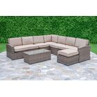 Candor 7 Piece Sectional Set with Cushions