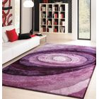 Sherlock Hand-Tufted Lavender Area Rug Rug Size: Rectangle 5' x 7'