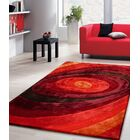 Living Shag Shades of Red Rug Rug Size: 7'6