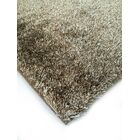 Heineman Solid Shag Hand-Tufted Brown Area Rug Rug Size: Rectangle 5' x 7'
