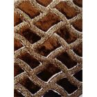 Shaggy Viscose Design Brown Area Rug Rug Size: 7'6