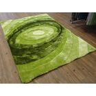 Hand-Tufted Green Area Rug