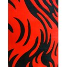 Geo Hand-Tufted Red Area Rug