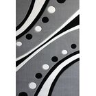 Hagberg Gray Area Rug Rug Size: Rectangle 7'10