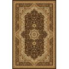 Boody Traditional Oriental Brown Area Rug Rug Size: Rectangle 7'10