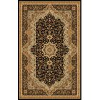 Boody Traditional Oriental Black Area Rug Rug Size: Rectangle 7'10