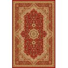 Boody Traditional Oriental Burgundy Area Rug Rug Size: Rectangle 5'4
