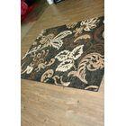 Ganey Black/Brown Indoor Area Rug Rug Size: Rectangle 5' x 8'
