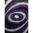 Sheraton Hand-Tufted Gray/Purple Area Rug Rug Size: Rectangle 7'6