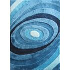 Orme Shaggy Hand-Tufted Turquoise Area Rug Rug Size: Rectangle 5' x 7'