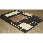 LifeStyle Black Indoor/Outdoor Area Rug Rug Size: 5' x 8'