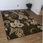 Lifestyle Black Indoor/Outdoor Area Rug Rug Size: 8' x 11'
