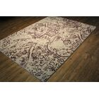 Edmon Lavender/Beige Area Rug Rug Size: Rectangle 7'5