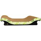 Scratch 'n Shapes Scoop Sofa Recycled Paper Scratching Board Style: Retro C