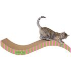 Scratch 'n Shapes Giant Purrfect Stretch Recycled Paper Scratching Board Color: Stripe A