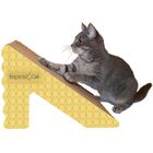 Scratch 'n Shapes Rub & Ramp Recycled Paper Scratching Post Color: Honeycomb
