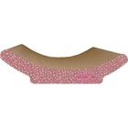 Scratch 'n Shapes Cozy Curl Recycled Paper Scratching Board Pattern: Valentine C