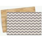 Starner Zig Zag Design Cushion Doormat Mat Size: Rectangle 4'7