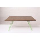Williams Coffee Table Color: Green, Size: 18
